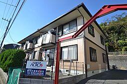 東京都八王子市南大沢1丁目の賃貸アパートの外観