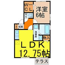 パークハイム[1階]の間取り
