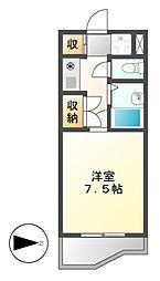 マインド覚王山[4階]の間取り