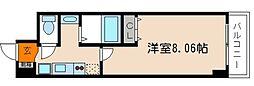 京都烏丸保粋ビル[803号室]の間取り
