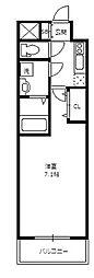 アーバンフラッツ新大阪I[7階]の間取り