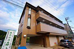 兵庫県川西市鴬の森町の賃貸マンションの外観