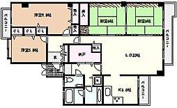 白鷹松下町マンション[2階]の間取り