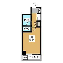 ノアーズアーク京都朱雀[8階]の間取り