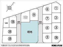 区画図/函館山...