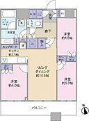 未入居のお部屋ですご内見可能でございます