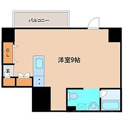 フロンティアゲート[8階]の間取り