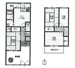 [テラスハウス] 兵庫県伊丹市堀池3丁目 の賃貸【/】の間取り