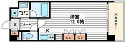 KDXレジデンス本町橋[12階]の間取り