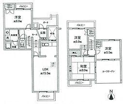 研究学園(1)団地213号棟