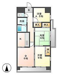 changuIII泉[12階]の間取り