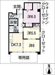 GrandCha'teauIII[1階]の間取り
