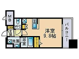 エンクレスト博多スタイル[3階]の間取り