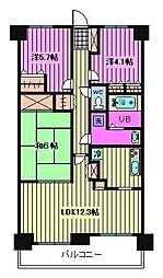 マ・メゾン寿[3階]の間取り