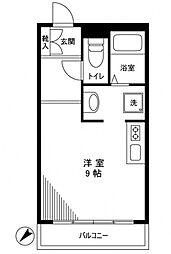 サンウッド六本木[5階]の間取り