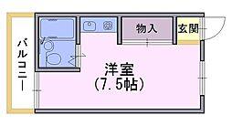 桜南ハイツ[2階]の間取り