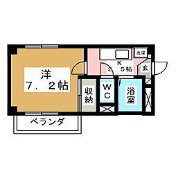 黒松STビル[3階]の間取り