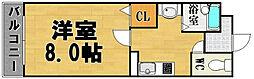 パワーズマンション南福岡[3階]の間取り