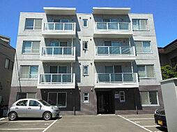 北海道札幌市東区北十三条東16丁目の賃貸マンションの外観