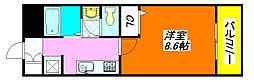 ジョイフル 105号室[1階]の間取り