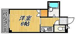 ヴィラージュ春吉II[4階]の間取り