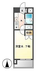 プロビデンス桜山[5階]の間取り