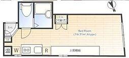 カノレーマ赤塚[2階]の間取り