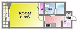 Shi-Karua arimoto[4階]の間取り