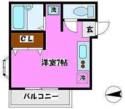 メゾン・ド・カオリ[1階]の間取り