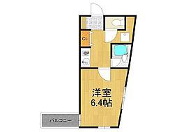 プライムハーツ[3階]の間取り