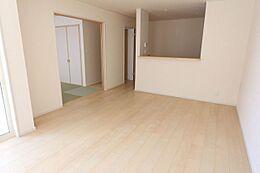 和室を合わせて20.5帖の大空間