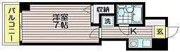 ブランコート仙川[3階]の間取り