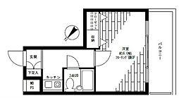 レクセル新子安[3階]の間取り