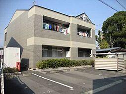 愛知県江南市木賀東町新宮の賃貸アパートの外観