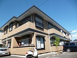 東京都府中市多磨町2丁目の賃貸アパートの外観