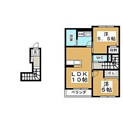 マールシティ[2階]の間取り