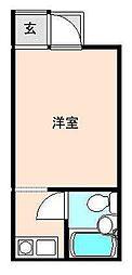 いちご畑[103号室]の間取り