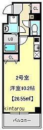 アールレジデンス東駒形[7階]の間取り
