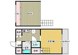 ボイスデムドン[4階]の間取り