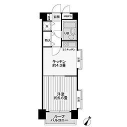 ライオンズマンション相模台第5[3階]の間取り