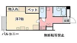福岡県糸島市美咲が丘1丁目の賃貸アパートの間取り