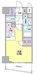 ディアレンス横濱沢渡[4階]の間取り