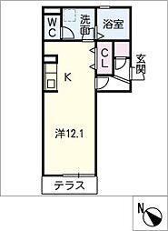 仮)D−room大平町[1階]の間取り