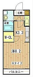 VRD新子安[4階]の間取り