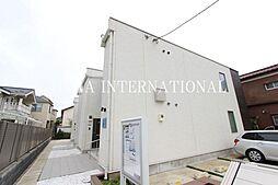 東京都調布市布田6丁目の賃貸アパートの外観