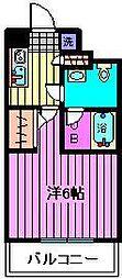 ラフィスタ蕨中央VERXEED[4階]の間取り