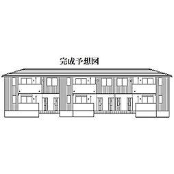奈良県橿原市南八木町2丁目の賃貸アパートの外観