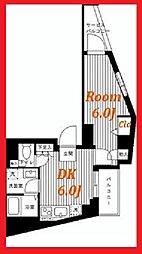 ヴィータローザCQレジデンス練馬富士見台[8階]の間取り