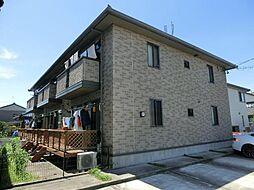 愛知県あま市中萱津親牧の賃貸アパートの外観