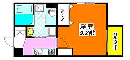 エヌエムトラントシス 302号室[3階]の間取り